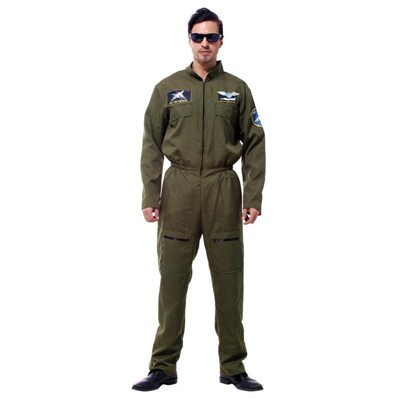 Halloween Costume Adult Special Warfare Dress Up Green Camouflage