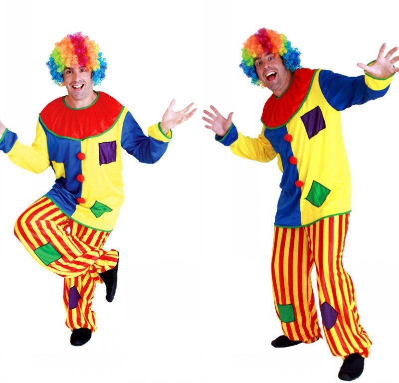 Halloween Costume Clown Party Funny Clown Set