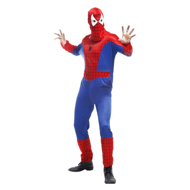 Halloween Costumes Adult Spiderman Tights Spider-man Stage
