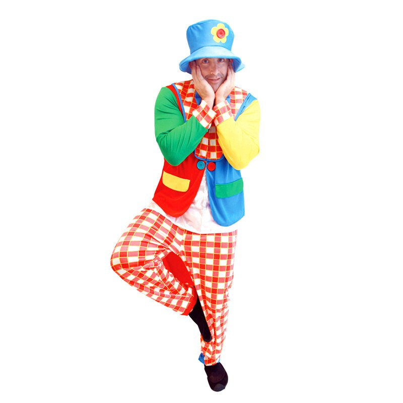 Halloween Costume Clown Dress Party Clown Show Costume