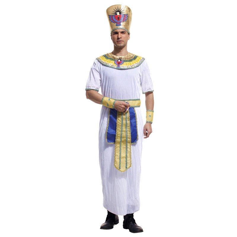 Halloween Costume Egyptian Pharaoh Adult King Costume