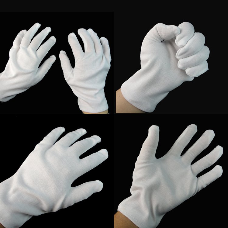 Halloween Jazz Dancing Magician Gloves Hip-hop Gloves White Gloves Clown Gloves