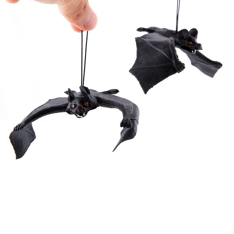 Whole Toy Simulation Toy Antique Pendant Whole Person Anti-really Bats Size Bats Simulation Animals
