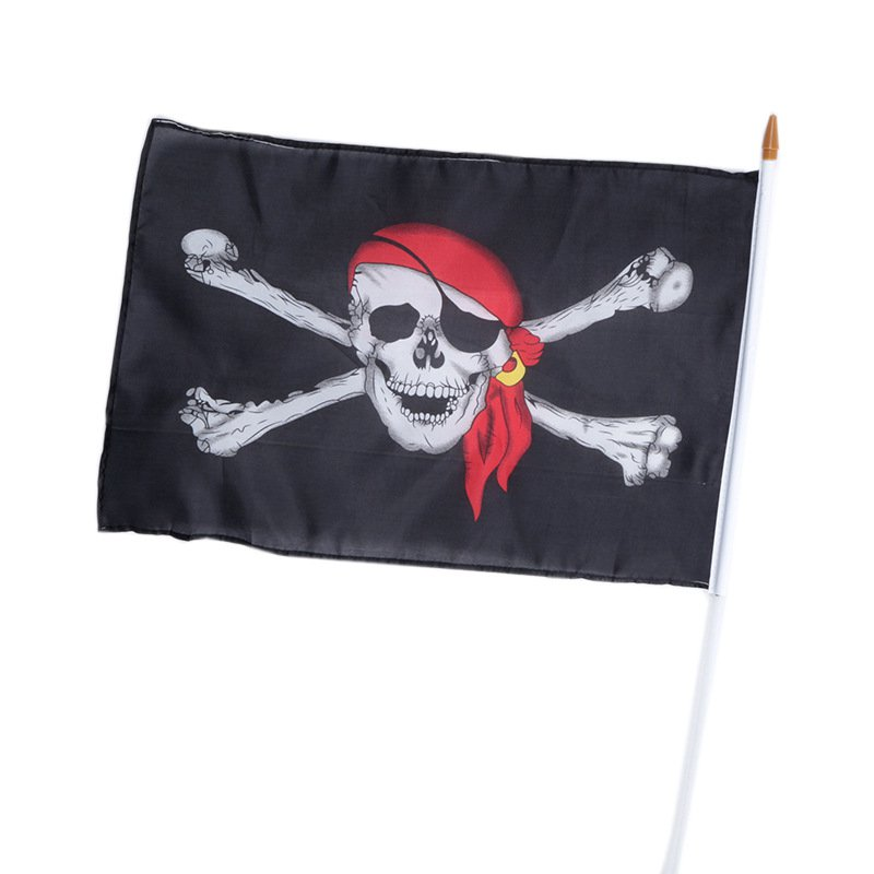 Halloween Decoration Skeleton Flag Pirate Flagposters Flag Big S S Caribbean Pirates Banner