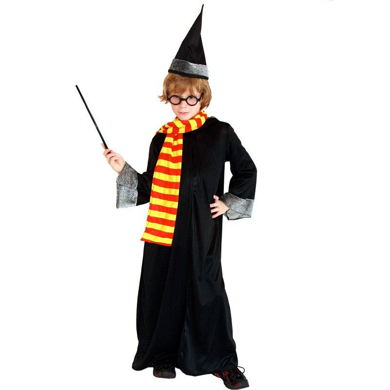 Halloween Dress Up Performances Harry Potter Dresses Magic Gloves Magic Bars