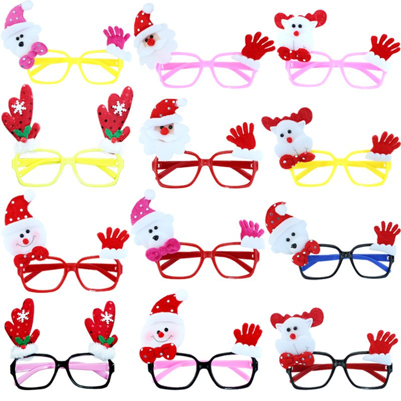 Christmas Decorations Christmas Gifts Festive Supplies Eyewear Decorations Creative Gifts