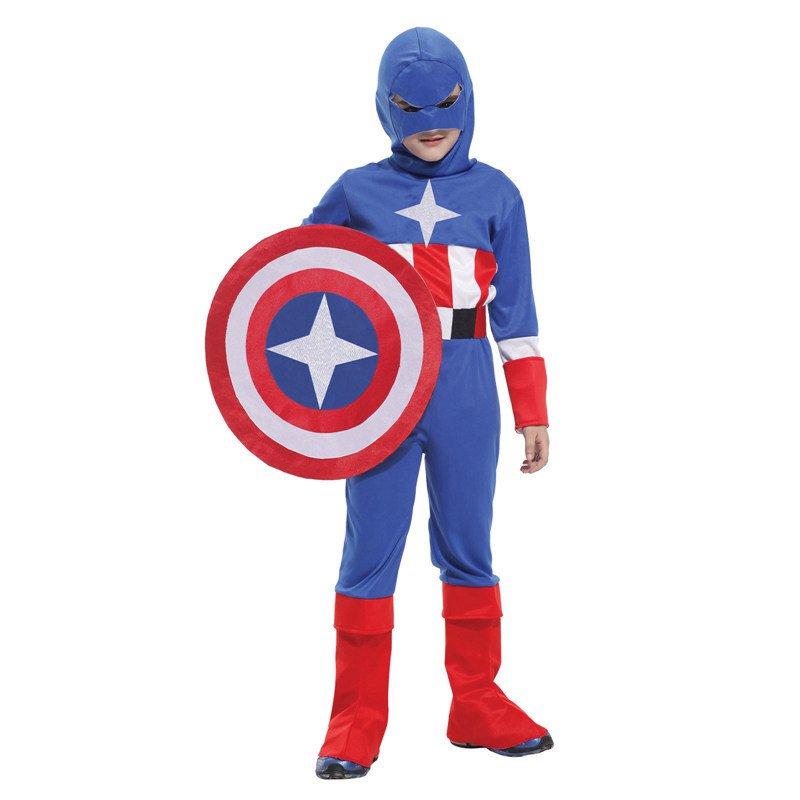Halloween Costume Us Captain Clothes Avenger Union Us Captain Shield