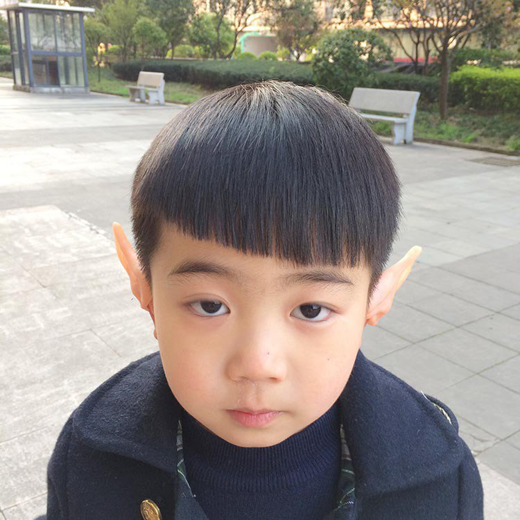 Halloween Make-up Simulation Elves Ear Latex Staples Half Ears Ears Ears