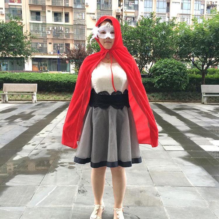 Halloween Flannel Cloak Dress Child Death Cloak Performance Dress Up