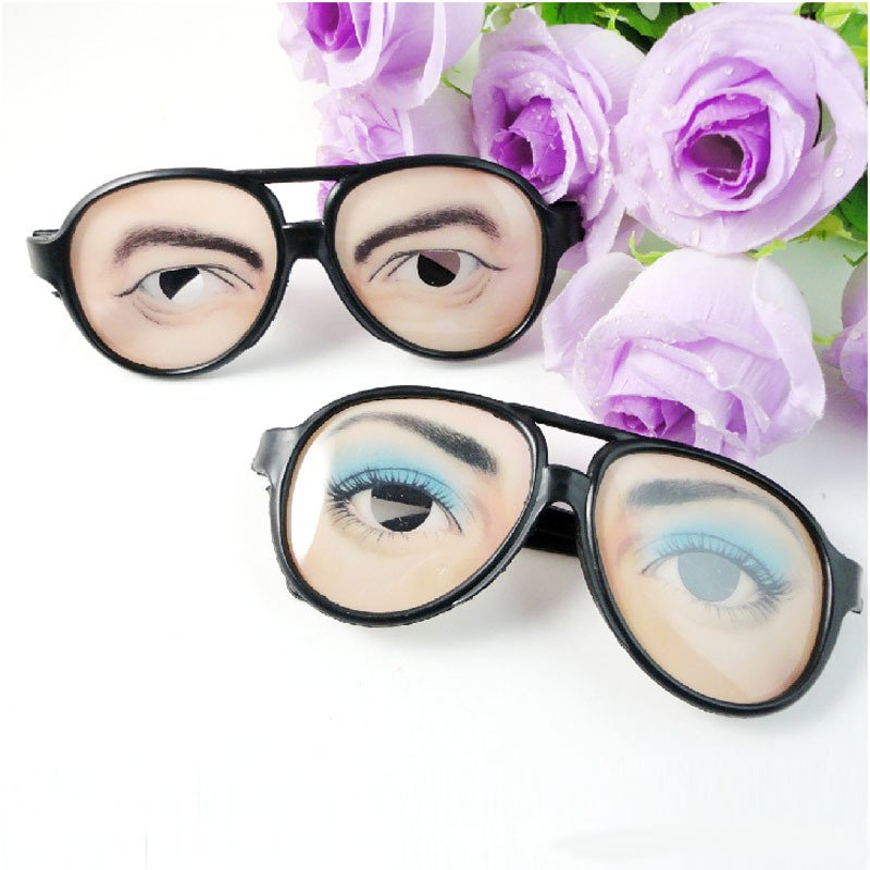 Halloween Funny Glasses Fool Day Creative Tricks Model Goods Whole People Funny