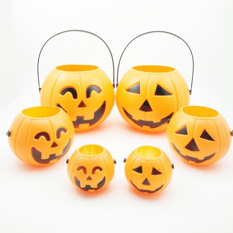 Halloween Halloween Gaitou Supplies Pumpkin Lights Pumpkin Cans Pumpkin Barrels