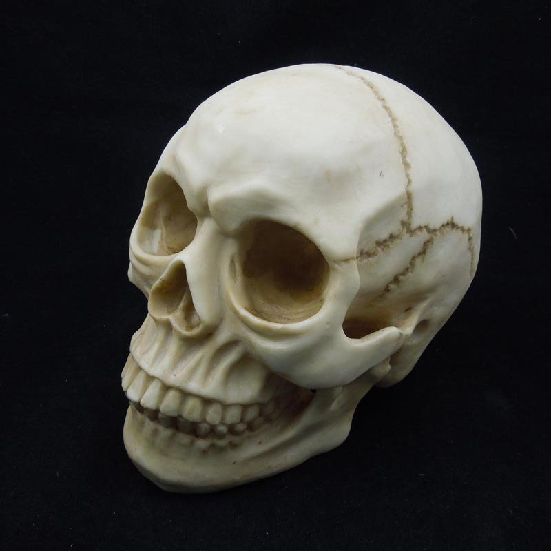 Halloween Items Novelty Creative Toys Horror Funny Spoof Tricks Whole Body Resin Skeleton