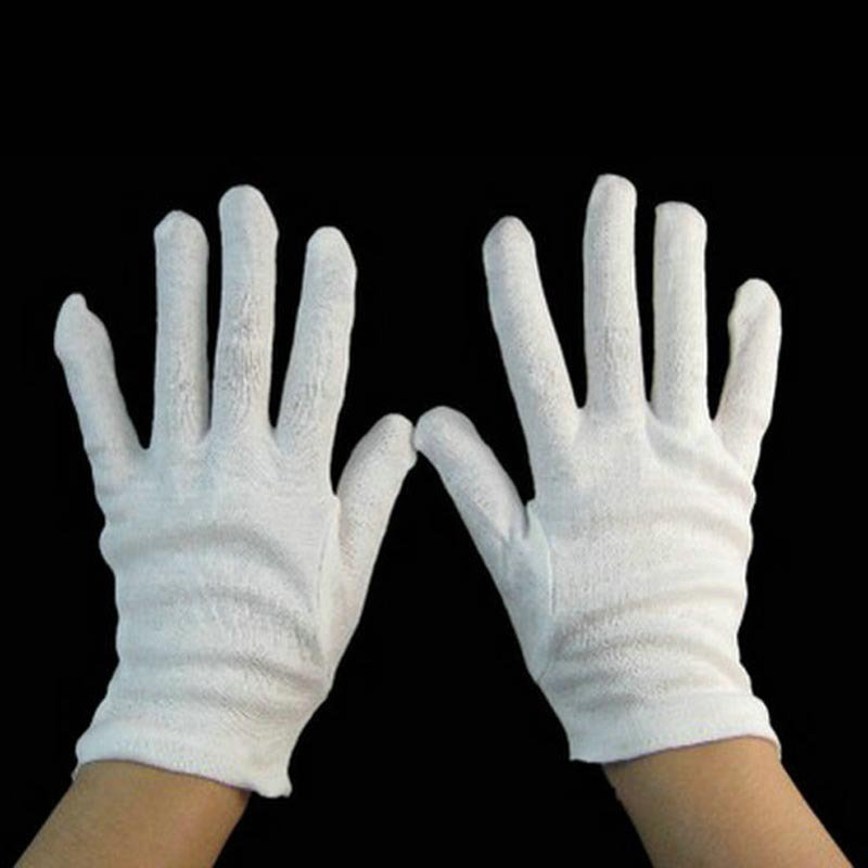Halloween Jazz Dancing Magician Gloves Hip-hop Gloves White Gloves Clown Gloves