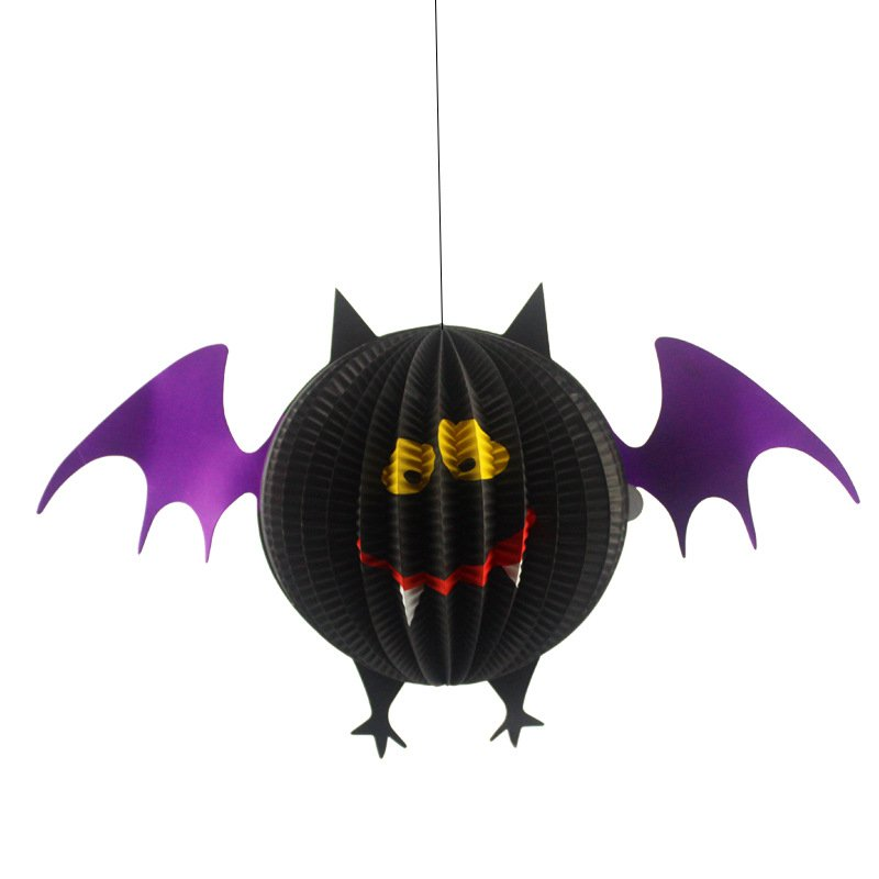 Funny Ghost Witch Spider Bod Strap Stereo Lantern Halloween Decoration
