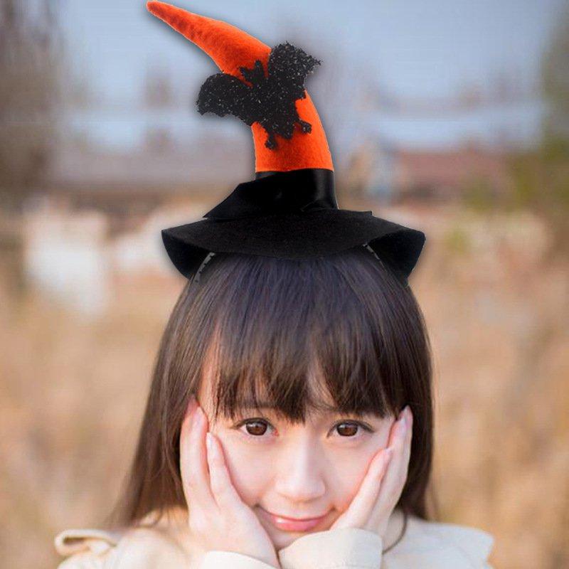 Halloween Headband Hoop Decorative Devil Kick Buckle Stage Performance Kindergarten Gift