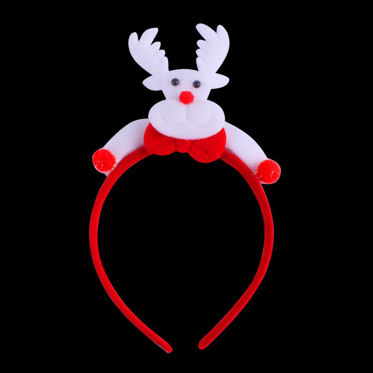 Santa Claus Headband Children Are Adults Style Head Buckles Christmas Antlers