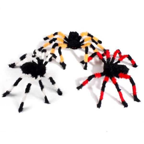 Halloween Costume Ornament Whole Black Plush Spider Spider Spider Spider