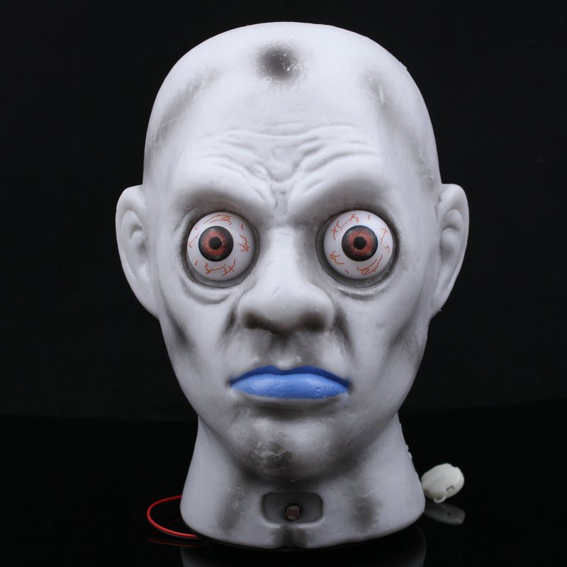Halloween Scene Dress Up Terror Glow Shock Horror Staring Bloodshot Fighting Funny Tricky Decoration