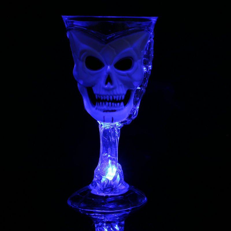 Halloween Party Dress Glowing Horror Funny Ghost Ghost Face Spider Cup Flash