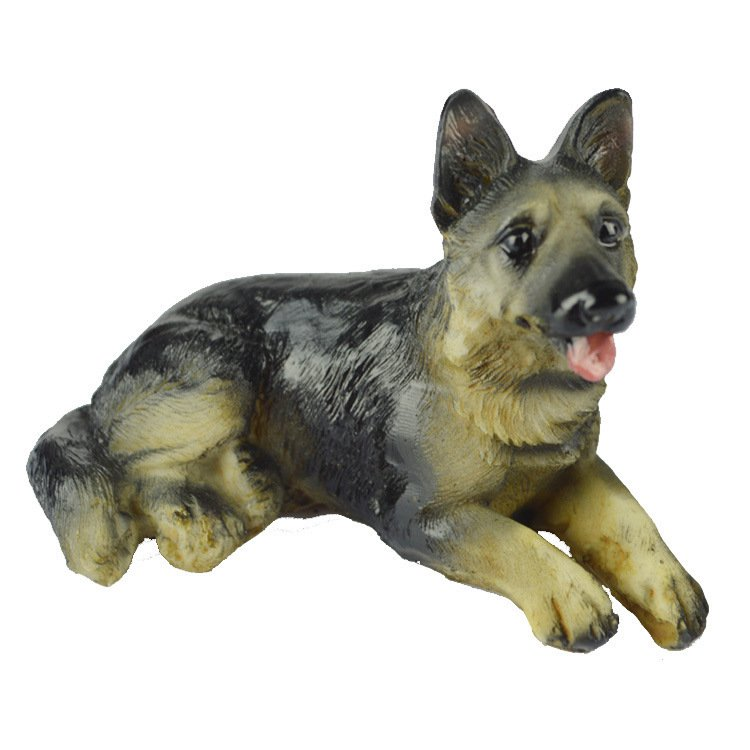 Small Dog Model Home Decoration Decoration Animal Resin Dog Birthday Gift Gift Children Toys
