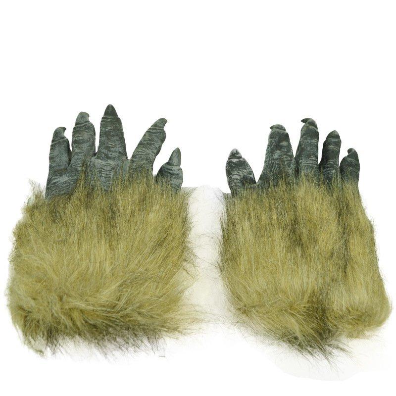 Halloween Performances Dress Up Ghost Festival Gloves Terrorist Terrorism Scared Wolves Gloves Wolves Gloves