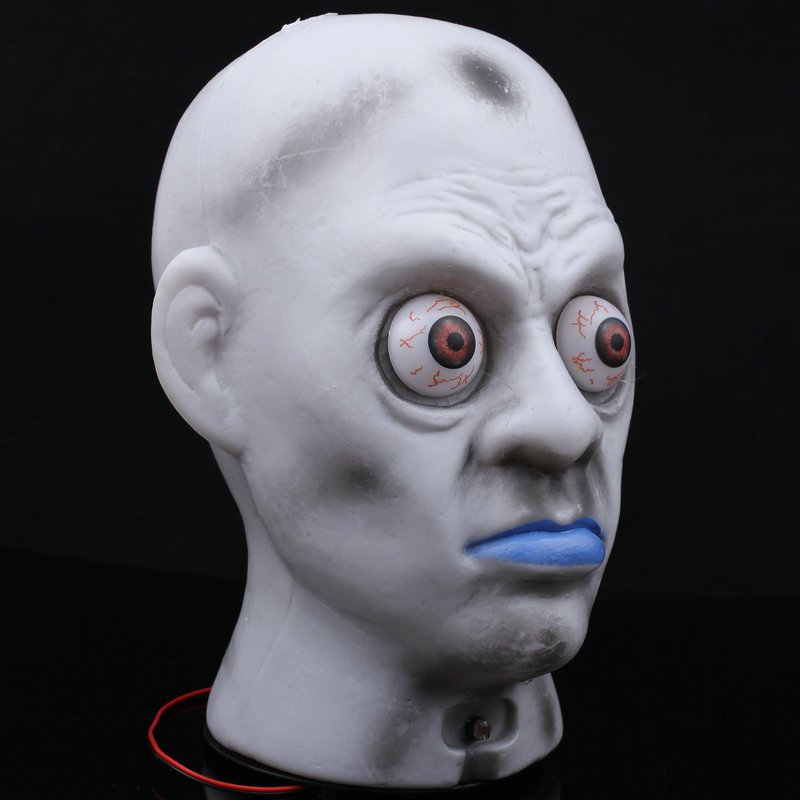 Halloween Haunted House Ktv Skull Head Ghosts Glowing Ghost Head Lights Light