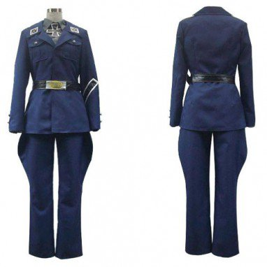 Axis Powers Prussia Gilbert Beilschmidt Nice Halloween Cosplay Costume