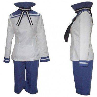 Axis Powers Seeland Peter Kirkland Halloween Cosplay Costume