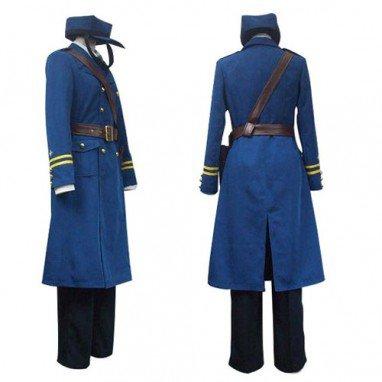 Hetalia  Axis Powers Sweden Berwald Oxenstierna Halloween Cosplay Costume