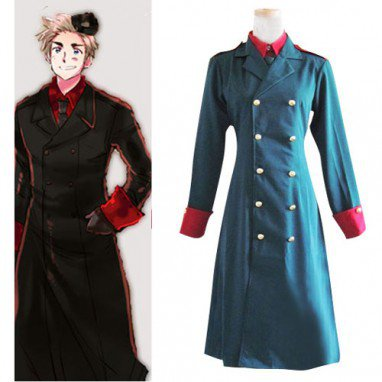 Axis Powers Denmark  Halloween Cosplay Costume