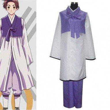 Axis Powers Korea Im Yong Soo Halloween Cosplay Costume