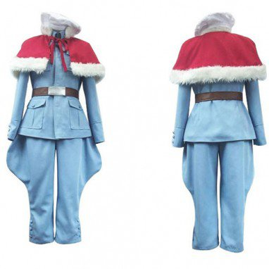 Axis Powers Tino Vainaminen Finland Halloween Cosplay Costume