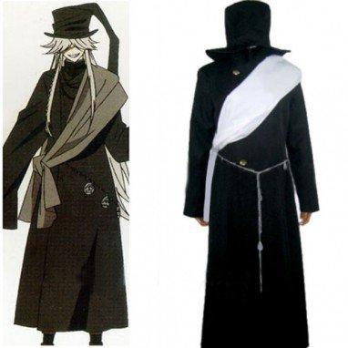 Black Butler Undertaker Halloween Cosplay Costume