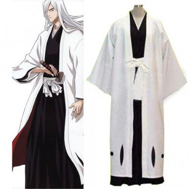 Bleach 13th Division Captain Ukitake Juushiro Men\'s cosplay