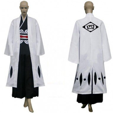 Bleach 4th Division Captain Unohana Retsu Halloween Cosplay Costume