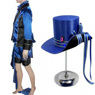 Cheap Black Butler Kuroshitsuji Ciel Phantomhive Halloween Cosplay Costume