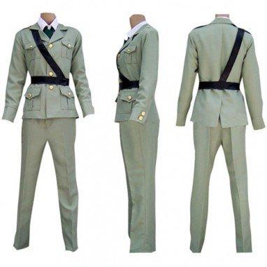 Hetalia Axis Powers Gray England Halloween Cosplay Costume