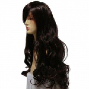 Hetalia Elizaveta Dark Brown Halloween Cosplay Wig