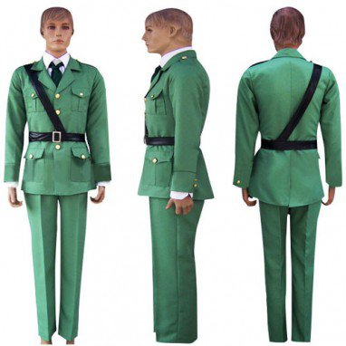 Hetalia: Axis Powers Lithuania Halloween Cosplay Costume