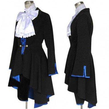 Top Black butler Kuroshitsuji Ciel Phantomhive Halloween Cosplay Costume