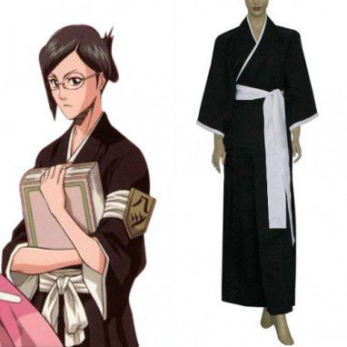 Bleach 8th Division Lieutenant Ise Nanao Halloween Cosplay Costume