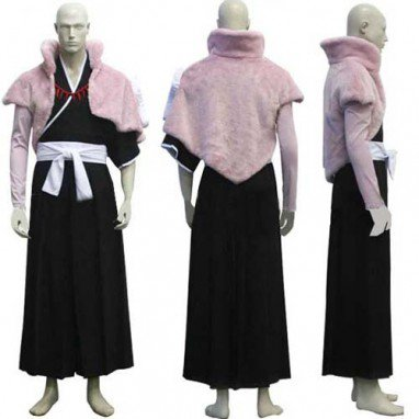 Bleach Abarai Renji Halloween Cosplay Costume