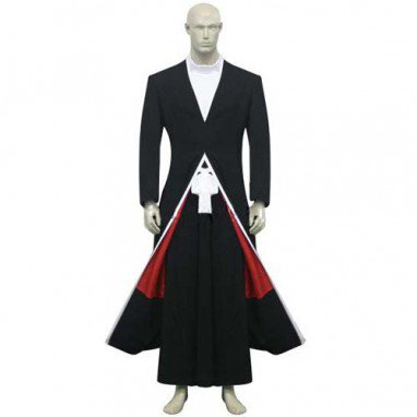 Bleach Ichigo Kurosaki Bankai Form Halloween Cosplay Costume