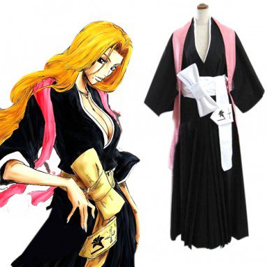 Bleach Matsumoto Rangiku Women\'s Halloween Cosplay Costume