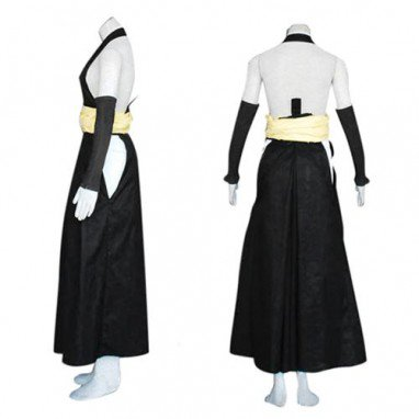 Bleach Soi Fong Fighting Halloween Cosplay Costume