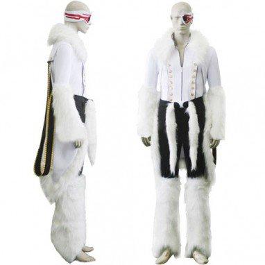 Bleach Stark Release Form Halloween Cosplay Costume