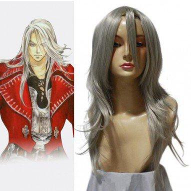 Castlevania Juste Belmont Halloween Cosplay Wig
