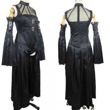 Chobits Freya Black Halloween Cosplay Costume