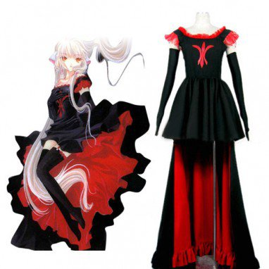 Chobits Freya Halloween Cosplay Costume