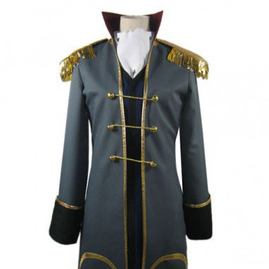 Code Geass Odysseus Wu Britannia Halloween Cosplay Costume